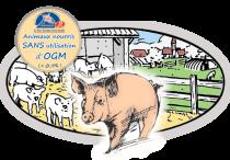 Alimentation sans OGM pour le Porc Fermier Cénomans Label Rouge