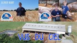 Visite de l'élevage de Porcs Fermier Cénomans Label Rouge de André Toutain dans la Sarthe