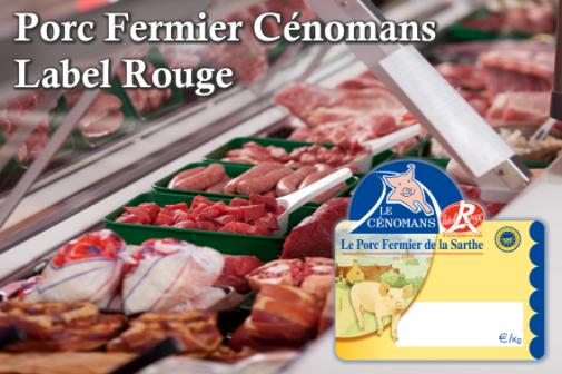 Bouchers et charcutiers, entrez dans la filière du Porc Fermier Cénomans Label Rouge