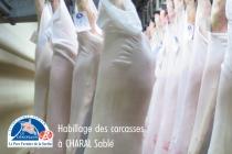 Habillage des carcasses de Porc Fermier de la Sarthe à CHARAL Sablé