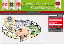 Le site fédéral www.label-viande.com gère le répertoire national des points de vente Label Rouge