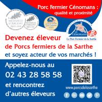 Annonce : devenir éleveur de Porcs fermiers de la Sarthe Label Rouge